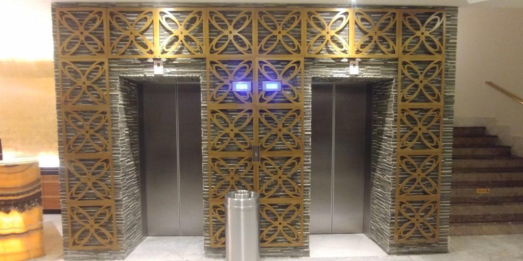 custom elevator doors